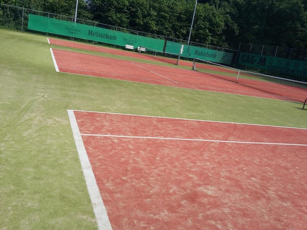 tennisbanen De Drieslag Hoog-Keppel
