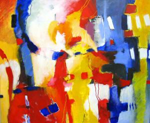 Algemeen abstract door Julia Joosen