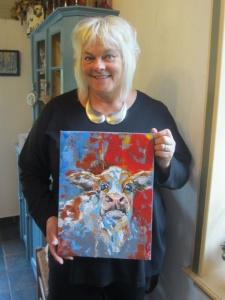 Kunstenares Liesbeth Pieterse