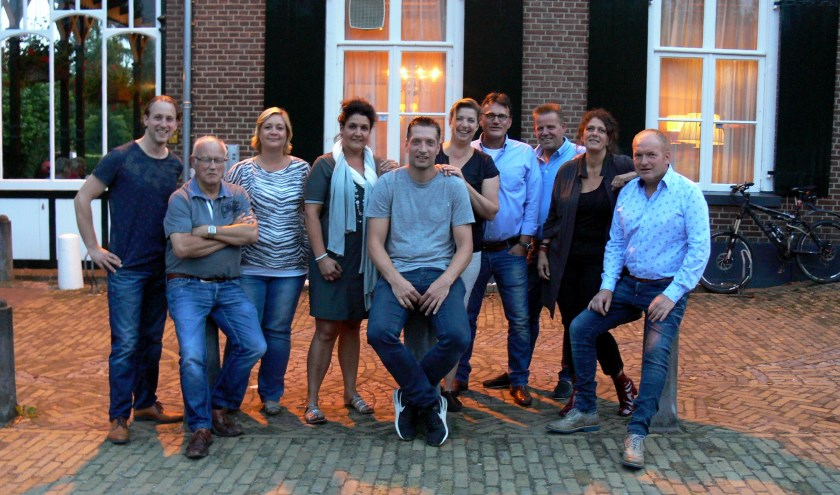 Bestuurs- en werkgroepleden van de ondernemersvereniging Hummelo, Keppel en Drempt. Foto: Rinus Rabeling