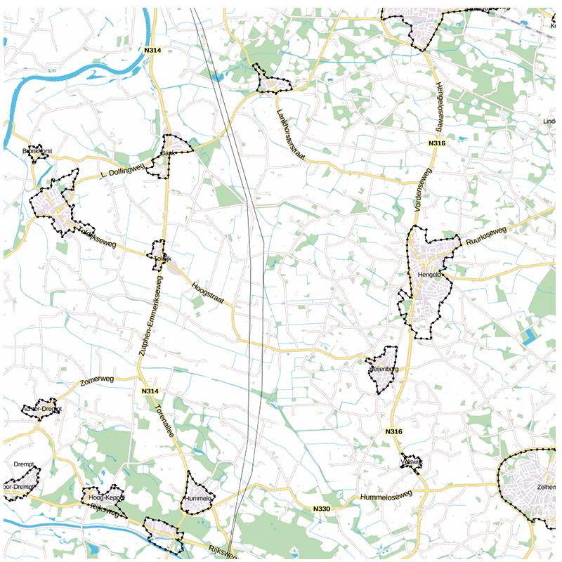 project Dorpsraad Drempt herziening bestemmingsplannen Gemeente Bronckhorst