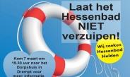 Laat het Hessenbad NIET verzuipen!
