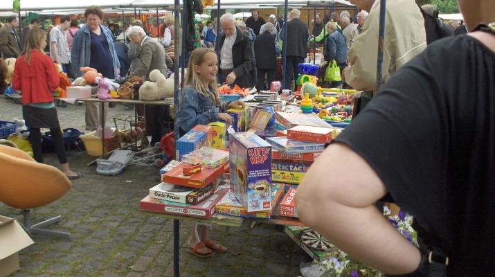 Kunst-, Antiek- en Rommelmarkt op Hemelvaartsdag in Hoog-Keppel