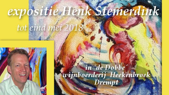 expositie Henk Stemerdink bij wijnboerderij 't Heekenbroek Drempt