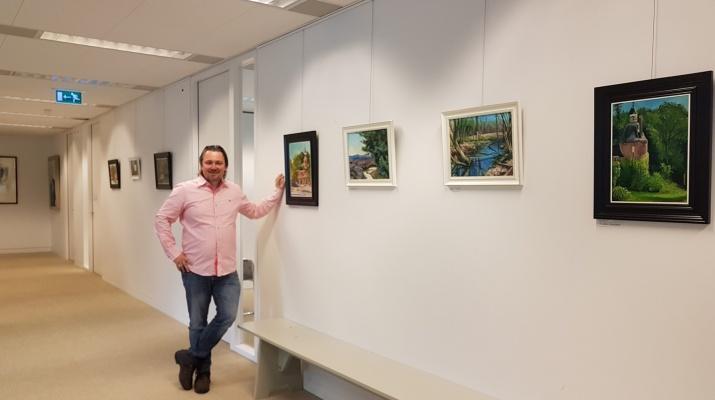 expositie Tommy Bauling uit Drempt