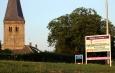 Portaalbord bij de kerk in Voor-Drempt