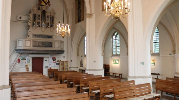 interieur St. Joriskerk Drempt