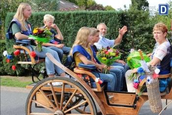 Voorzitter kermisbestuur Kees Boumeester, Koningin 2017, Jeugdkoningen en Jeugdkoninginnen 2017+2018