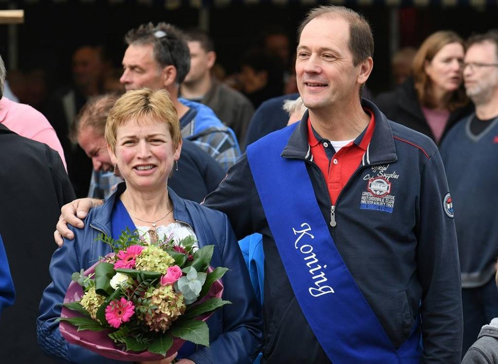 Piet Hammink Schutterskoning 2017 kermis Drempt