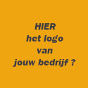 Afbeelding met de tekst HIER het logo van jouw bedrijf ?