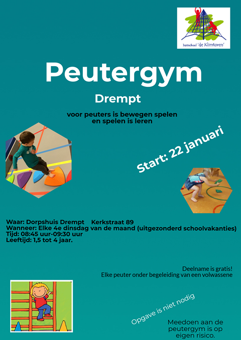 flyer Peutergym Drempt