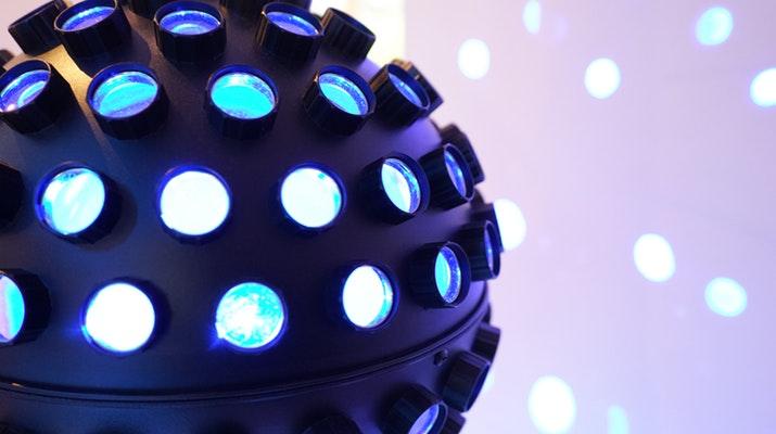 discobal met lichtjes