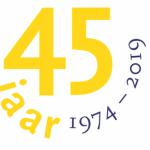 logo Stichting Oude Gelderse Kerken 45 jaar 1974 - 2019