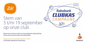 Rabobank Clubkas Campagne promotie 2019