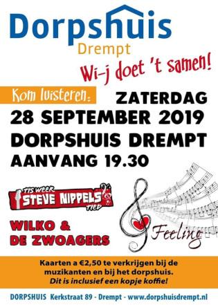 poster Wi-j doet 't samen in Dorpshuis Drempt