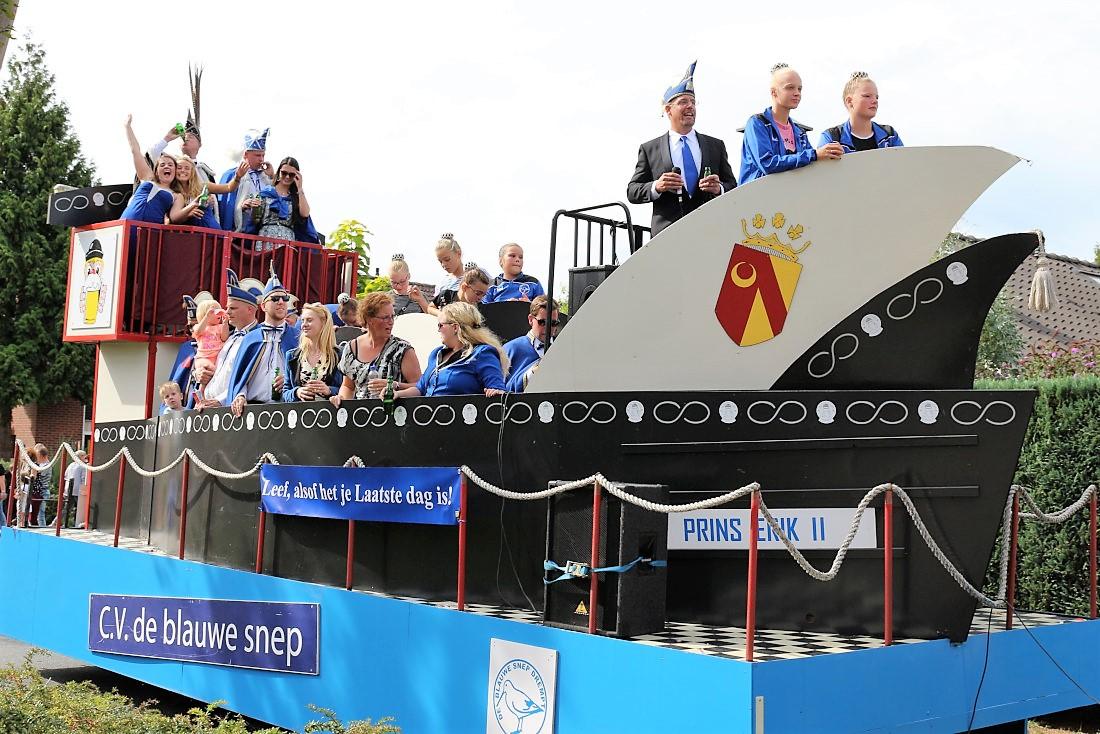 carnavalswagen De Blauwe Snep