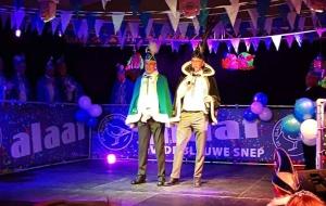 Prins Carnaval met zijn adjudant