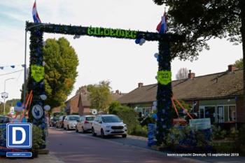 Schuttersboog door buurt Gildeweg
