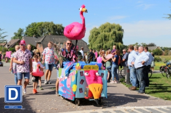 Onrustige flamingo | Kleine Dreef