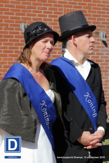 Schutterskoningin Carmen Teunissen & Koning Jurgen Teunissen