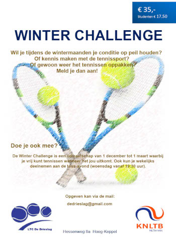 Winter Challenge LTC de Drieslag