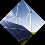 zonnepanelen en windturbines