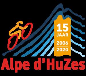 logo 15 jaar Alpe d'HuZes