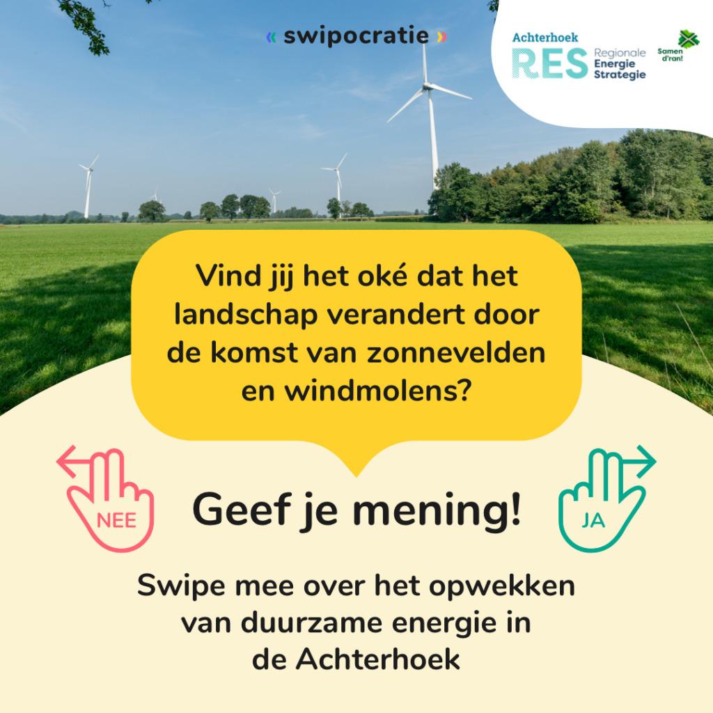 campagne Swipocratie RES Achterhoek