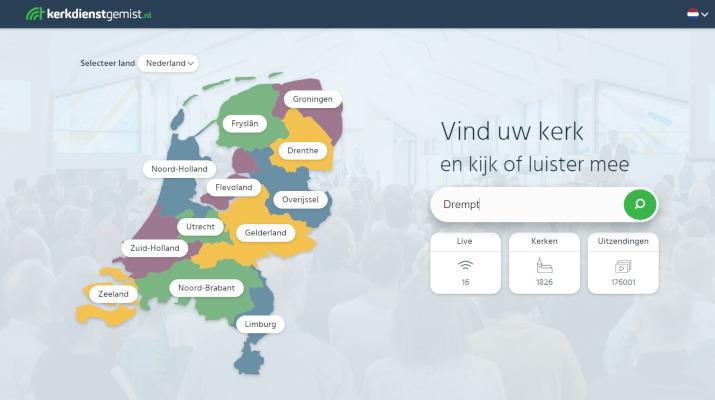 homepage kerkdienstgemist.nl