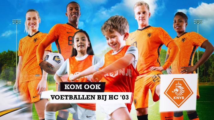 voetballers in oranje