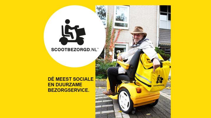 Scootbezorgd.nl - de meest sociale en duurzame bezorgservice