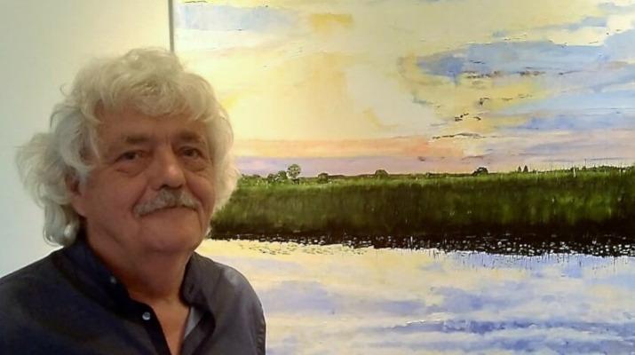 Fred van de Broek exposeert in de Dobbe bij wijnboerderij 't Heekenbroek Drempt