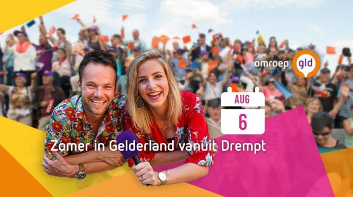 Zomer in Gelderland vanuit Drempt op 6 augustus