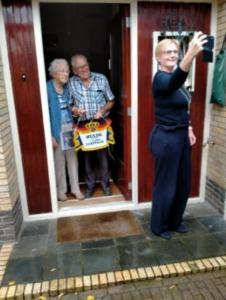 Toos en Jan Haveman 65 jaar getrouwd - foto Wilma Oortgiesen