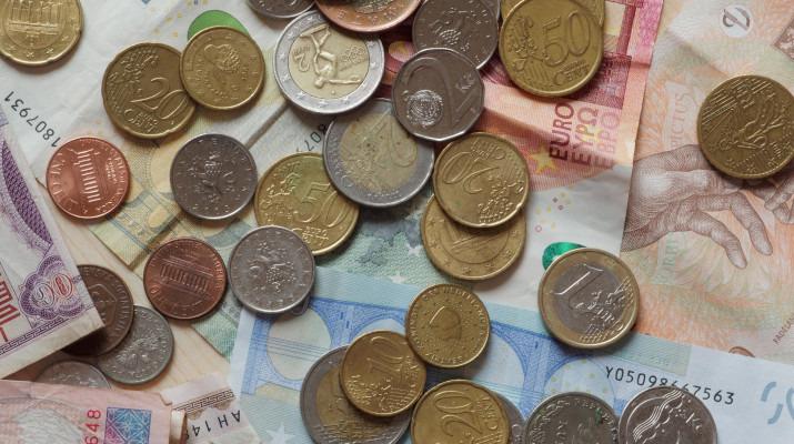 euro munten en bankbiljetten